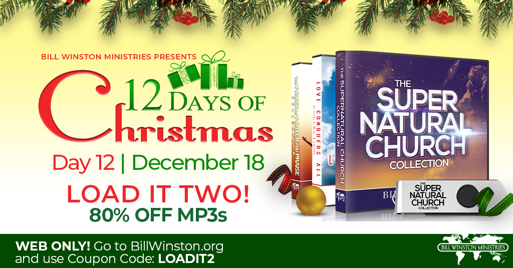 Bill Winston Ministries Presents 12 Days of Christmas Countdown